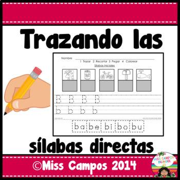 Silabas Directas - Sorting Spanish Initial Syllables