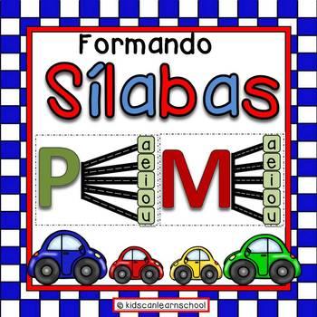 Silabas, Formando Silabas.