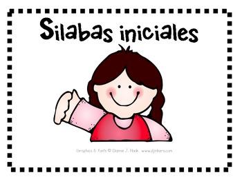 Silabas Iniciales