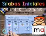 Sílabas Iniciales/ Syllables in Spanish