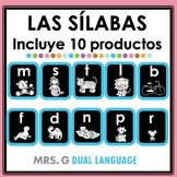 Sílabas Iniciales. Spanish Syllables Bundle.