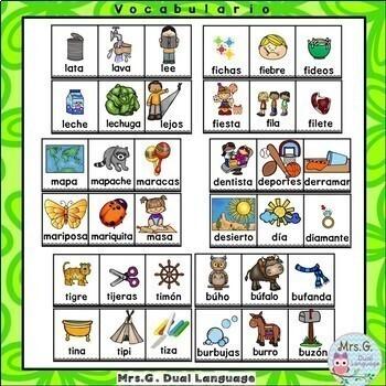 Sílabas Iniciales. Spanish Syllables Bundle.