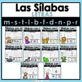 Spanish Syllables Activities BUNDLE   La Silaba Inicial