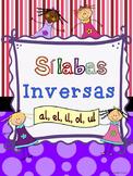 Silabas Inversas --al, el, il, ol, ul Sílabas Inversas