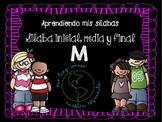 Sílabas: Ma, Me, Mi, Mo, Mu Inicial, Media y Final