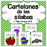 Silabas Posters - Cartelones de Silabas