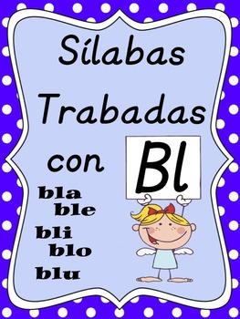 Silabas Trabadas Bla Ble Bli Blo Blu By Dual Language