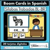 Silabas Trabadas BR BL Spanish Boom Cards