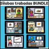Silabas Trabadas Boom Cards BUNDLE
