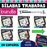 Sílabas Trabadas Bundle - Blend Syllables - Boom Cards - D