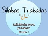 Silabas Trabadas CL- Paquete de actividades {Spanish Conso