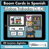 Silabas Trabadas CR CL Spanish Boom Cards