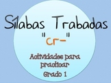 Silabas Trabadas CR- Paquete de actividades {Spanish Conso