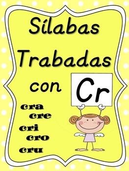 Silabas Trabadas Cra Cre Cri Cro Cru By Dual Language