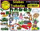 "Silabas Trabadas Clip Art BUNDLE ""MACSTAR Clips"" Bilingual Stars Mrs. Partida"