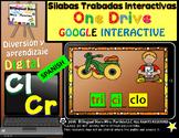 Silabas Trabadas Cr  Cl Google Classroom & Google Drive Spanish Forma Palabras