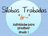 Silabas Trabadas DR- Paquete de actividades {Spanish Conso