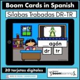Silabas Trabadas DR TR Spanish Boom Cards