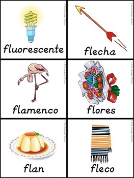 Silabas Trabadas FLA, FLE, FLI, FLO, FLU