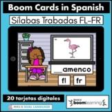 Silabas Trabadas FR FL Spanish Boom Cards