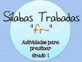 Silabas Trabadas FR- Paquete de actividades {Spanish Conso