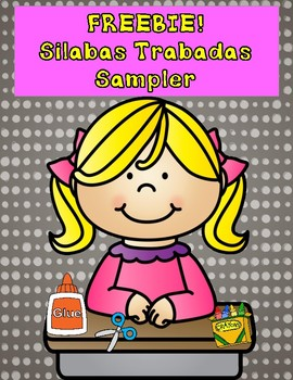 Silabas Trabadas:  FREEBIE SAMPLE of Silabas Trabadas Packet