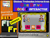 Silabas Trabadas Fr  Fl Google Classroom & Google Drive Spanish Forma Palabras