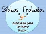Silabas Trabadas GL- Paquete de actividades {Spanish Conso