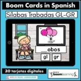 Silabas Trabadas GR GL Spanish Boom Cards