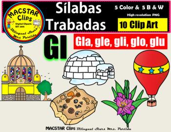 Silabas Trabadas Gl Worksheets Teaching Resources Tpt