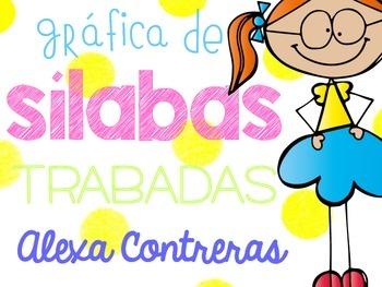 Silabas Trabadas {Graphing Blends in Spanish}