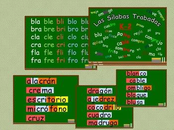 Silabas Trabadas - Grupos Consonanticos