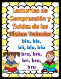 Silabas Trabadas Bl - Br Lecturitas de Fluidez y Comprension GruposConsonanticos