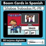 Silabas Trabadas PR PL Spanish Boom Cards