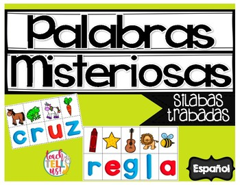 Silabas Trabadas - Syllables in Spanish