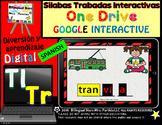 Silabas Trabadas Tr  Tl Google Classroom & Google Drive Spanish Forma Palabras