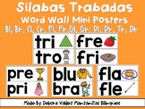 Silabas Trabadas Word Wall Mini Posters