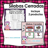 Sílabas cerradas Spanish Closed Syllables Bundle