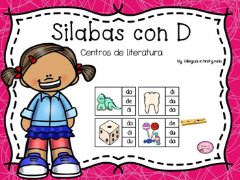 Spanish Syllable Stations: Silabas con D