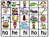 Silabas con H en Español