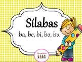 Sìlabas con la letra b   - ba, be, bi, bo, bu. Con 3 hojas