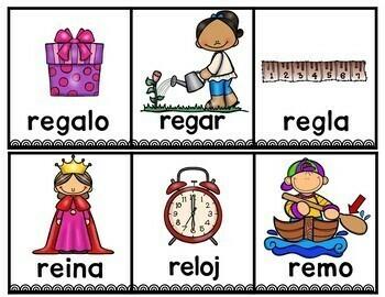Sílabas con la letra r - ra, re, ri, ro, ru. Hojas de trabajo