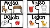 Sílabas en Español - Rompecabezas