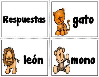Sílabas finales con letras magnéticas (Syllables SPANISH)