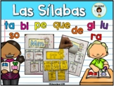 Sílabas - libreta interactiva (Spanish Syllables Interactive)