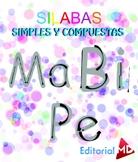 Silabas para Niños Simples y Compuestas para Imprimir