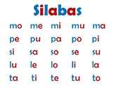Silabas posters
