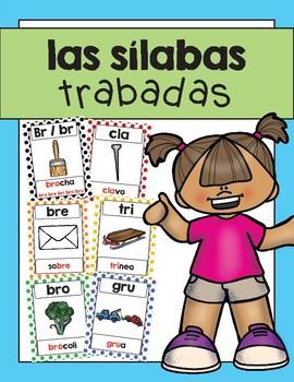 Sílabas trabadas- carteles / Spanish Blends Posters