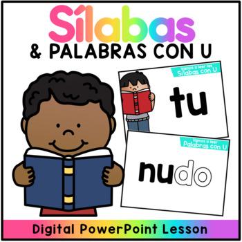 Sílabas y Palabras con U - Powerpoint