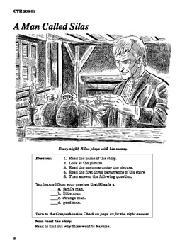 Silas Marner 10 Chapter Novel with Student Activities and Answer Keys
